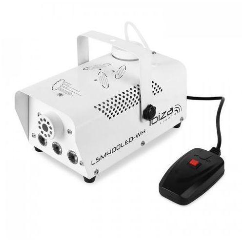 Maszyna do mgły lsm400led-wh mini amber led biała marki Ibiza