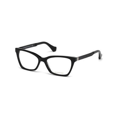 Okulary korekcyjne ba5070 001 marki Balenciaga