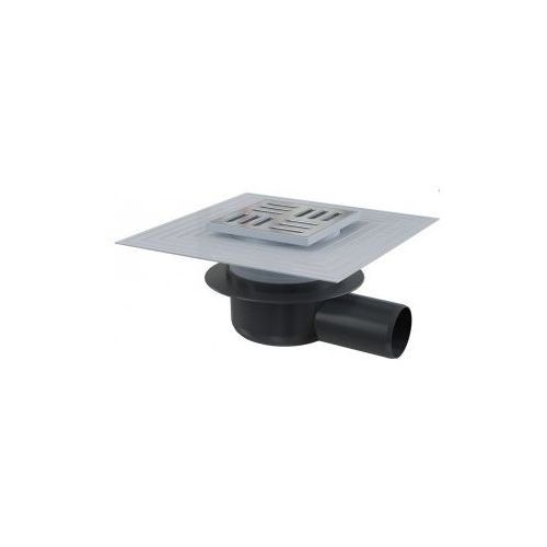 Kratka ściekowa 105x105 mm odpływ boczny  APV26C, produkt marki Alcaplast