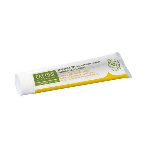 Cattier Remineralizująca pasta do zębów - glinka i olejek cytrynowy (75 ml) (3283950040051)