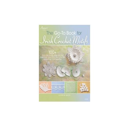 Go-to Book for Irish Crochet Motifs