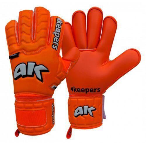 rękawice bramkarskie champ colour orange iv rf marki 4keepers