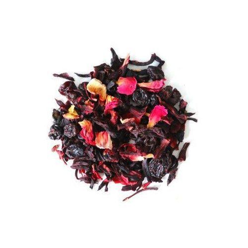 Herbata owocowa o smaku czerwona róża 150g