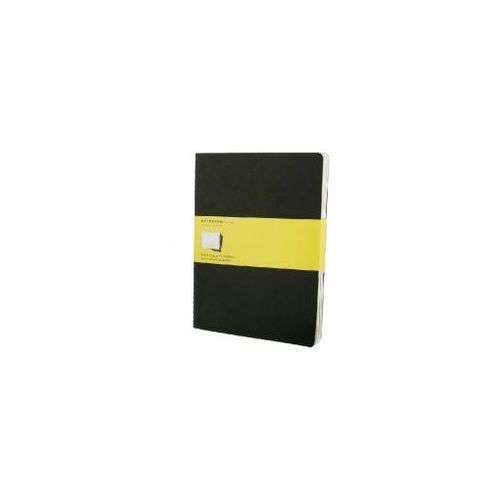Moleskine Cahier Journal Square Black Extra Large (Set of 3)