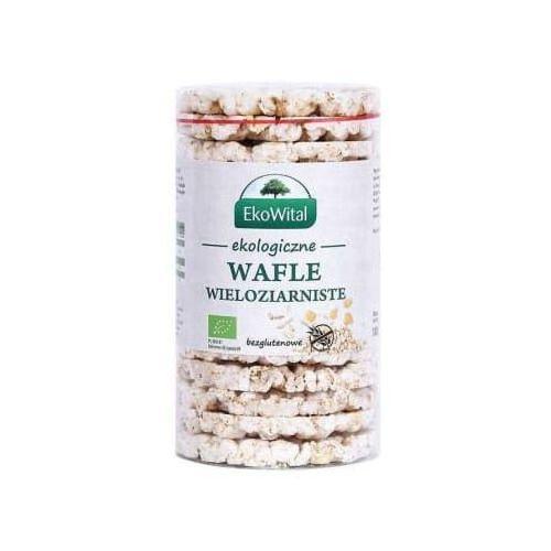 Ekowital Wafle wieloziarniste bez soli bezglutenowe bio (5908249973954)