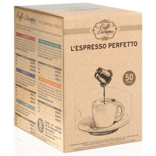 Nespresso kapsułki Diemme mente kapsułki do nespresso – 50 kapsułek