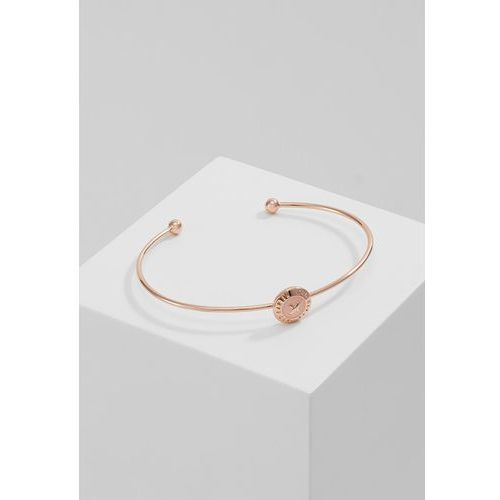 Ted Baker ELVAS MINI BUTTON ULTRAFINE CUFF Bransoletka rosegoldcoloured/baby pink