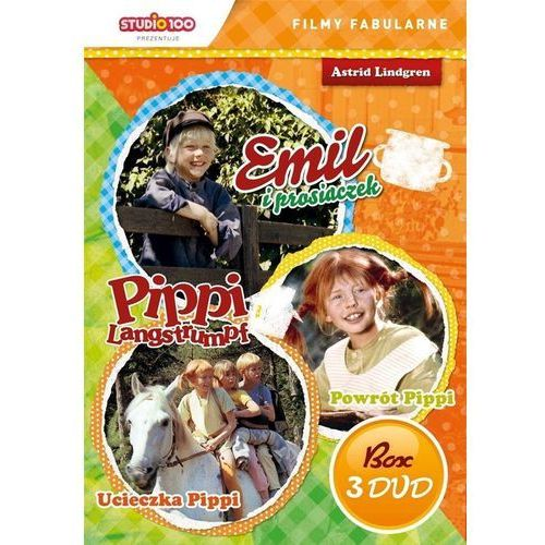 Cass film Pippi langstrumpf/emil ze smalandii 3 (box 3dvd) (5905116620225)
