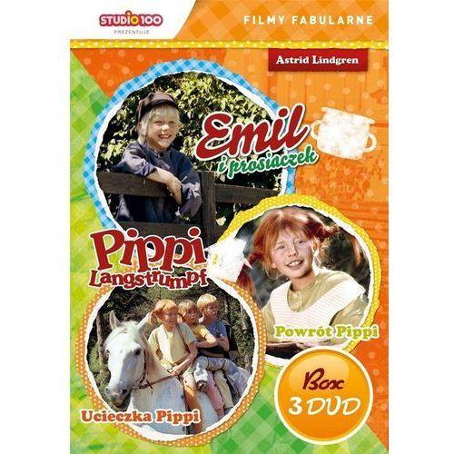 Cass film Pippi langstrumpf/emil ze smalandii 3 (box 3dvd) (5905116620225)
