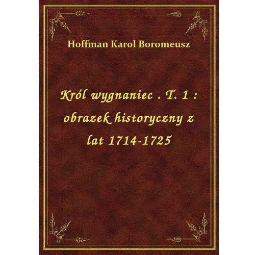 Król wygnaniec. T. 1: obrazek historyczny z lat 1714-1725, Boromeusz Karol Hoffman