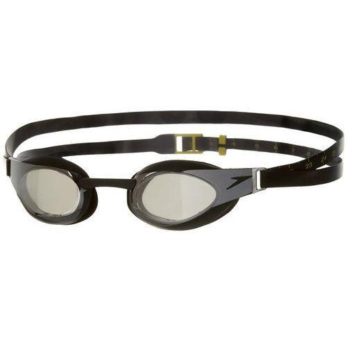 Speedo fastskin elite mirror okulary pływackie czarny 2018 okulary do pływania