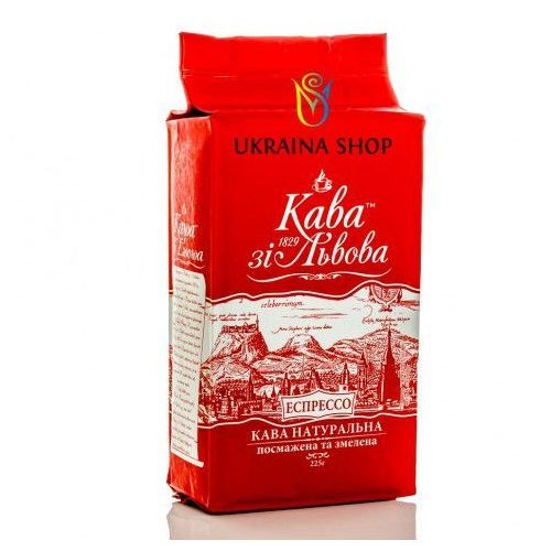 Kava zi lvova Kawa lwowska espresso 225 g