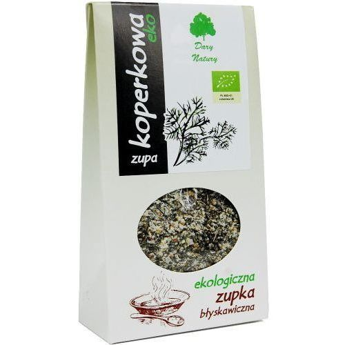 Zupka błyskawiczna w proszku koperkowa bio 30 g - dary natury marki Dary natury - inne bio