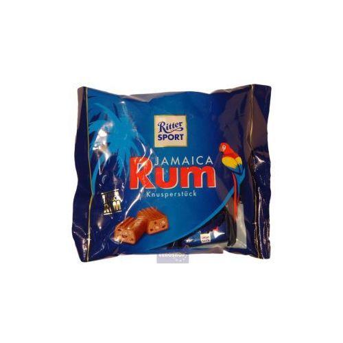 Duża paczka batoników Ritter Sport - czekoladki rumowe 200g (4000417067203)