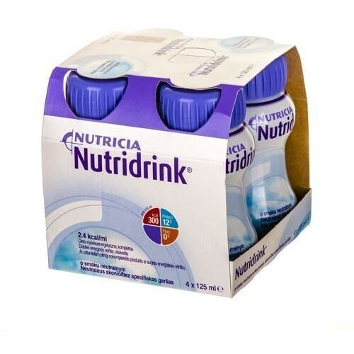 Nutridrink o smaku neutralnym 4 x 125ml marki Nutricia polska