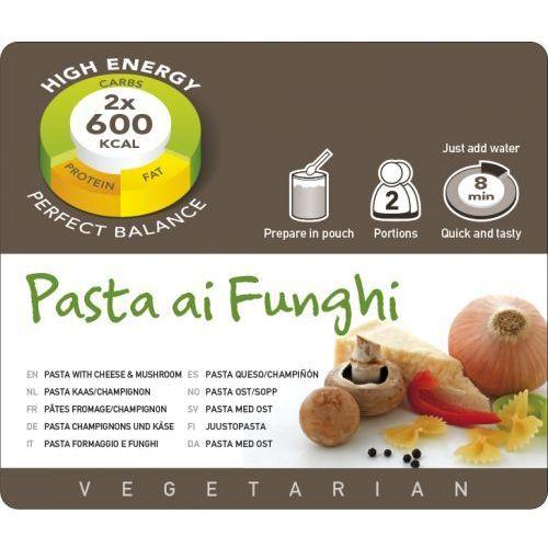 Adventure Food Pasta ai Funghi Żywność kempingowa podwójna porcja Posiłki wegetariańskie