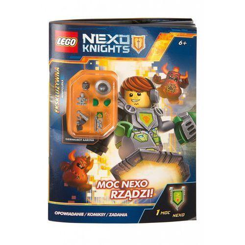 Lego Nexo Knights. Moc Nexo rządzi!, oprawa broszurowa