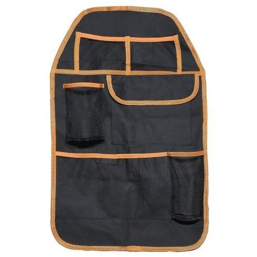Organizer na przedni fotel samochodowy orange, 37,5 x 58,5 cm marki 4home