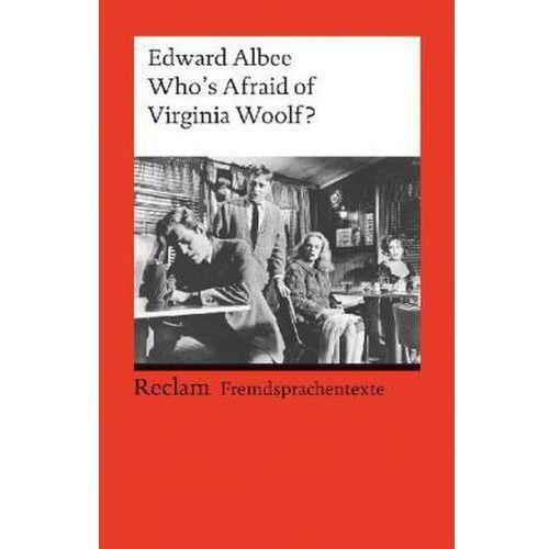 Who's afraid of Virginia Woolf? (9783150090732)