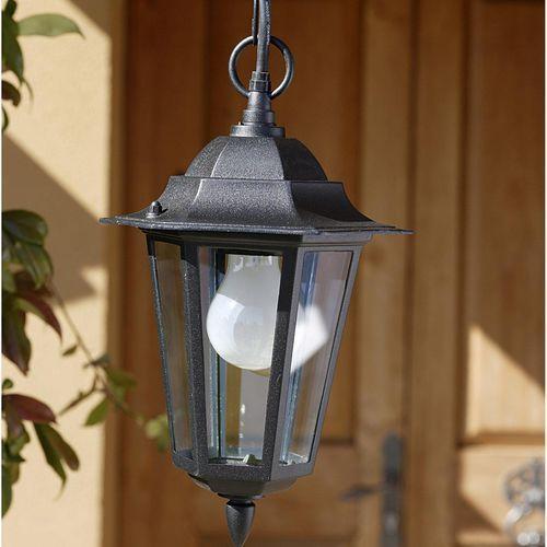Eglo Laterna - lampa wisząca zewnętrzna czarny