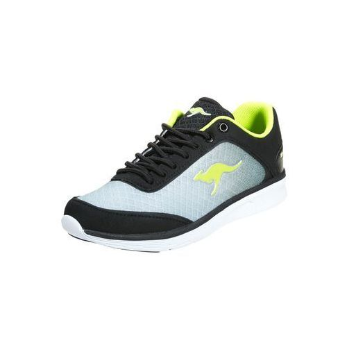 KangaROOS BLUE LIGHT 2002 Tenis�wki i Trampki black/lime