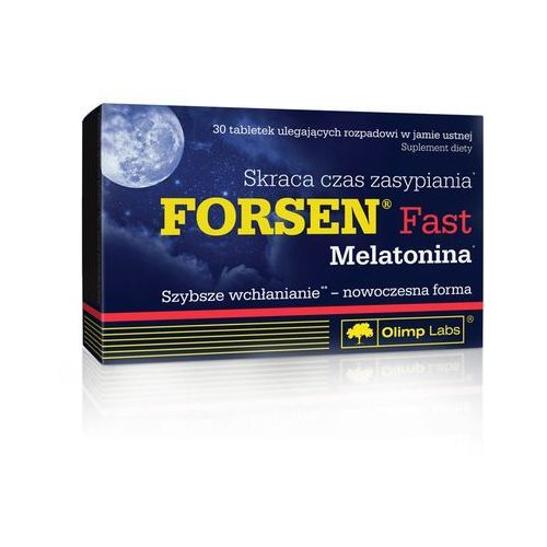 Tabletki Olimp Forsen Fast + Melatonina - 30 tab.