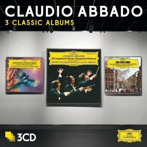 3 CLASSIC ALBUMS - Claudio Abbado (Płyta CD), 4792549