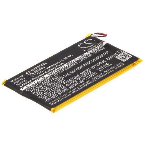 Barnes & Noble BNRV510 / PR-285083 1500mAh 5.55Wh Li-Polymer 3.7V (Cameron Sino)