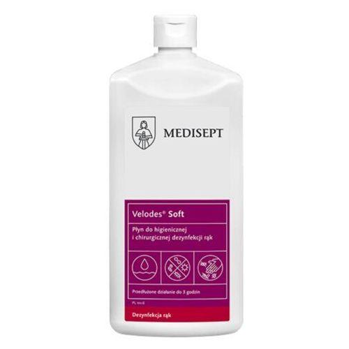 MEDI-LINE VELODES SOFT Płyn do dezynfekcji rąk 500 ml (ref. SSE-43-GOT-ML542) (5907626633542)