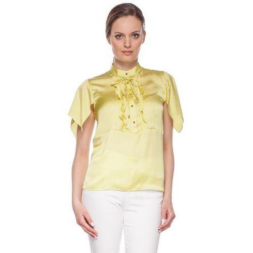 Zielona bluzka z falbankami - marki Duet woman