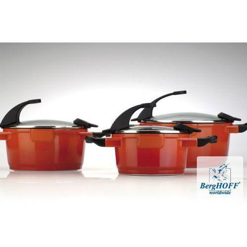 BergHOFF Zestaw garnków VIRGO 8 el POMARAŃCZOWE WYSYŁKA 0 zł 24H - produkt z kategorii- garnki