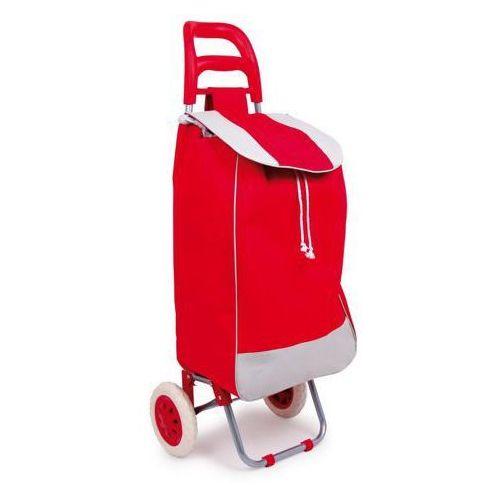 Wózek na zakupy - czerwony (wózek na zakupy)