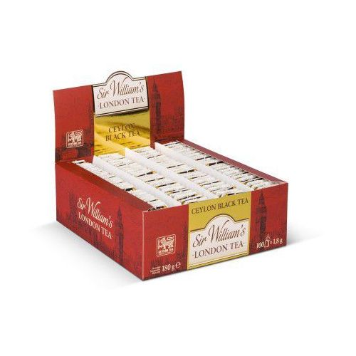 Herbata Sir William's LONDON CEYLON BLACK 100 szt.