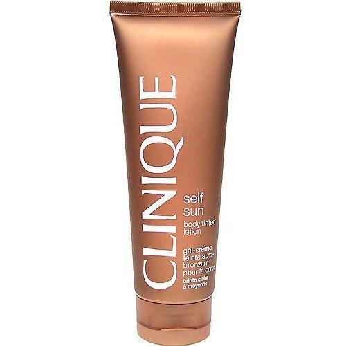 self sun body tinted lotion samoopalacz 125 ml dla kobiet medium/deep marki Clinique
