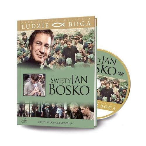 Rafael Ludzie boga. święty jan bosko dvd + książka (9788366126152)