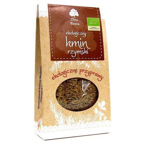 Dary natury - przyprawy i zioła bio Kmin rzymski ( kumin ) całe nasiona bio 30 g dary natury (5902741006035)