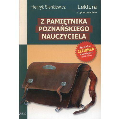 Z pamiętnika poznańskiego nauczyciela (miękka), oprawa miękka