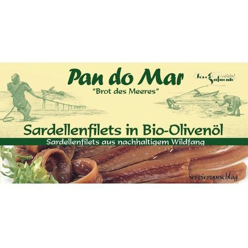 Pan do mar Anchois (sardele) w bio oliwie z oliwek 6x50g