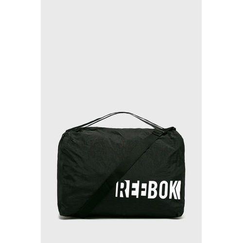 74f41bffc4cc0 torba marki Reebok 149,90 zł Torba sportowa z linii Reebok. Model  wytworzony z materiału plastikowego.