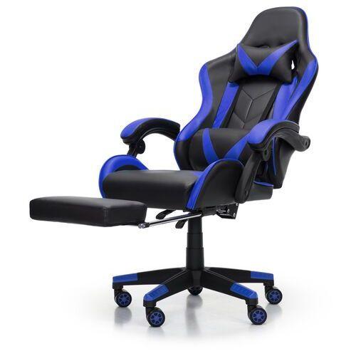 Nordhold Fotel gamingowy - fenrir - niebieski