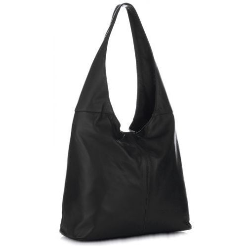 d7574d081485b uniwersalna torebka skórzana shopperbag miękka skóra wysokiej jakości czarna  (kolory) marki Vittoria gotti 269,00 zł Stylowa torba shopper bag włoskiej  ...