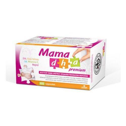 Kapsułki MAMA DHA PREMIUM x 60 kapsułek