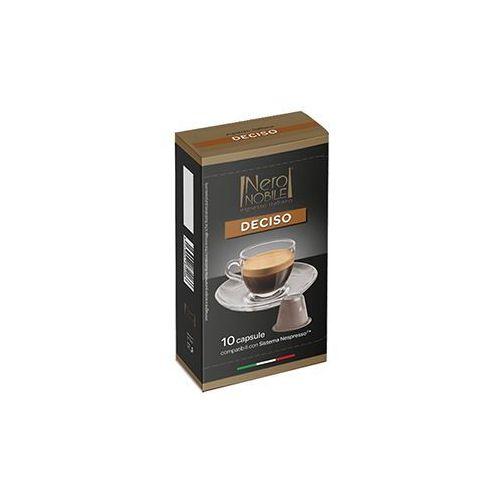 Nero nobile Kapsułki do nespresso* wyrazista/deciso 10 kapsułek - do 12% rabatu przy większych zakupach oraz darmowa dostawa (8033993874503)