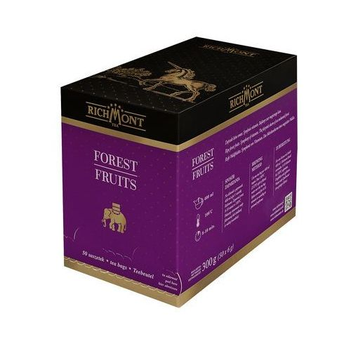 Herbata o smaku owoców leśnych, 50 saszetek | , forest fruits marki Richmont
