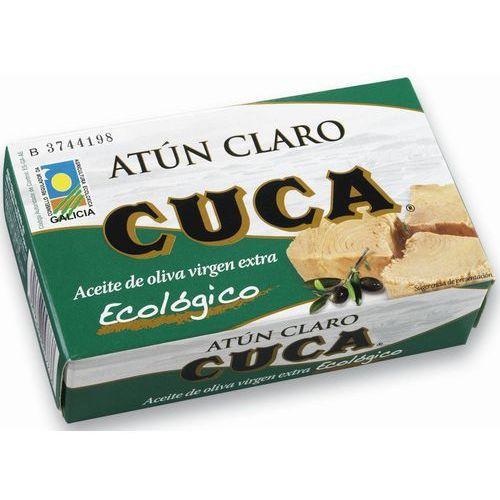 Cuca: tuńczyk żółtopłetwy w oliwie z oliwek BIO - 110 g, 8410698047737