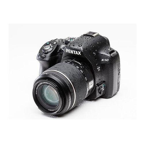 K-50 marki Pentax - lustrzanka cyfrowa
