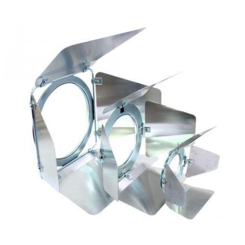 Eurolite par-20 barndoor - skrzydełka ograniczające do reflektora srebrne
