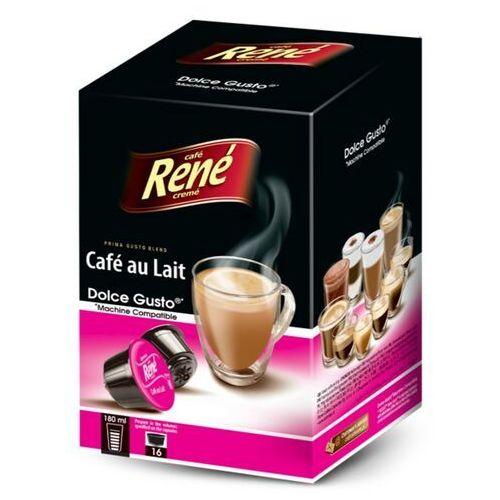 Rene Cafe au Lait (kawa z mlekiem) kapsułki do Dolce Gusto – 16 kapsułek, 2683