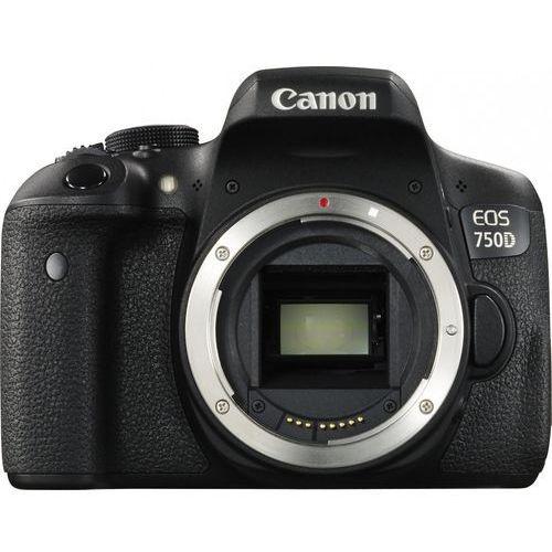 EOS 750D marki Canon - lustrzanka cyfrowa