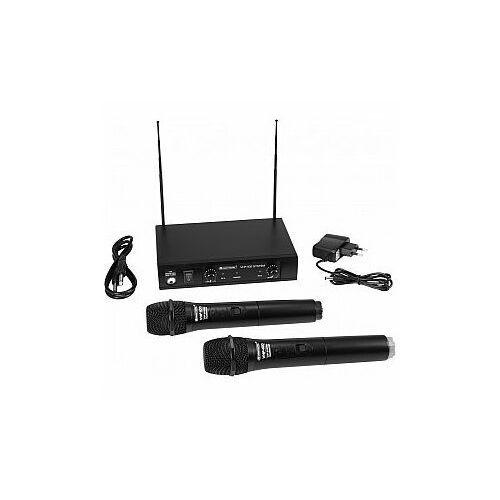 OMNITRONIC VHF-102 209.80/205.75MHz - Bezprzewodowy Zestaw Mikrofonowy (4026397644494)